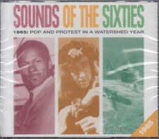 Sounds of Sixties 1965 Pop & Protest In Watershed Year 3CD NEW Readers Digest