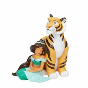 Disney Magical Moments Figurine Jasmine & Rajah Aladdin New and Boxed