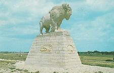 LAM(V) Fort Hays, KS - The Monarch of the Plains - Bison Statue