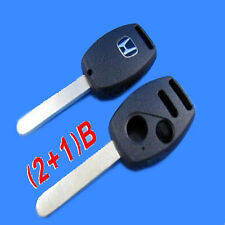 HONDA Remote Head Key SHELL 3 BUTTON WITHOUT chip holder USA Stock