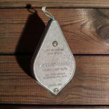 Schlagschnurgerät Strait-Line Chalk Line Reel Plumb Bob USA Pat.2589500 von 1949
