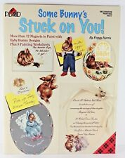 Plaid Some Bunny's Stuck on You! Decorative Painting 12 Magnet Designs #9577