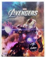 AVENGERS Blu-ray [3D+2D] Steelbook NOVAMEDIA FULL SLIP IRON MAN #500/1000