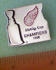 Hockey Pin - Detroit Red Wings Stanley Cup Champions 1998