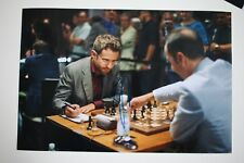 Gm Levon aronjan signed 20x30cm foto autógrafo Autograph ip1 Grandmaster Chess