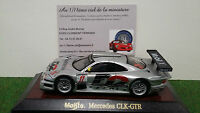 MERCEDES CLK-GTR # 11 gris D2  1/43 MAISTO 31504 voiture miniature de collection