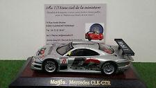 MERCEDES CLK-GTR # 11 gris D2  1/43 MAISTO 31504 voiture miniature de collection