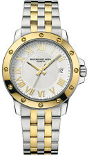 Raymond Weil Men's 5599-STP-00308 Tango White Dial Two Tone Watch - NEW IN BOX
