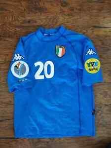 KAPPA ITALIA ITALY HOME EURO2000 TOTTI S ORIGINAL JERSEY SHIRT