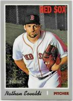 2019 Topps Heritage High NATHAN EOVALDI Chrome Parallel /999 Red Sox THC-568