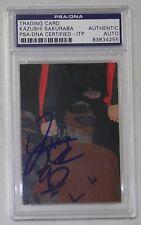 Kazushi Sakuraba Signed 2001 Nobuhiko Takada Dojo Card 97 PSA/DNA UFC Pride Auto