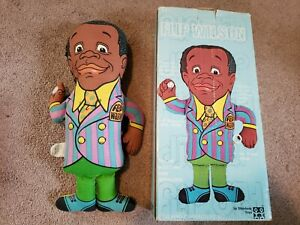 Flip Wilson GERALDINE Shindana two sided talking doll in BOX 1970 Not Working