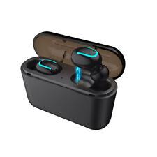 Auricolari Q32 TWS Bluetooth 5.0 - EarBuds con Custodia Ricarica in Alluminio