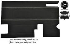 Bianco Stitch PORTELLONE PORTA CARTA Trim LTHR Copertura Per Land Rover Defender Stile 2