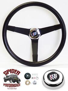 1969-1972 Wildcat GS GS350 GS400 GS455 steering wheel BUICK 14 3/4 VINTAGE BLACK