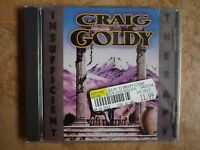 CRAIG GOLDY - Insufficient Therapy CD BRAND NEW SEALED RARE hard rock giuffria