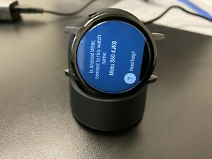 excellent condition Moto 360 2nd Gen Smart Watch