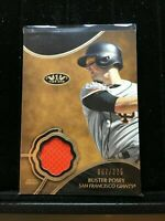 F9834 2019 Topps Tier One Relics #T1RBP Buster Posey/375 jersey