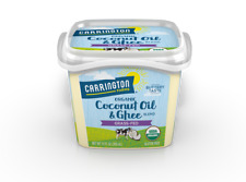 Carrington Farms @Organic Coconut Oil & Ghee Grass-Fed @ 12fl.oz/355ml