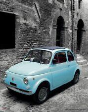 BASSANO KERAMIK GELB FIAT 500 AUS ITALIEN NEU!