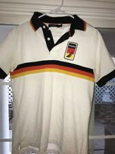 Nautica Sailing Club Americas Cup Germany Polo Shirt Big Logo Slim Fit SZS