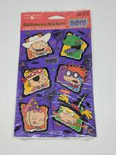 Vintage 1999 Rugrats Halloween Stickers American Greetings Nickelodeon TV NIP