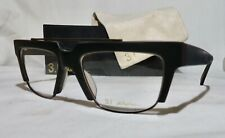 Phillip Lim Donahue Eyeglass frames 54-19-140 Matte Black acetate w/case, NEW!