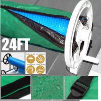 15/5.5/6.1/7.3m Solar Decke Winter Abdeckung Für Schwimmbad Solar Roller Rolle