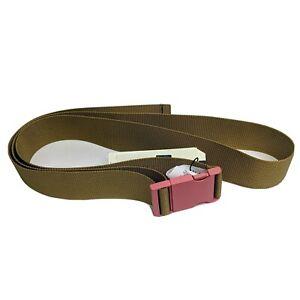Levis L Metal Clip Webbing Belt Buckle Closure RFID 380190055 Utilitarian Style