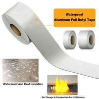 20mmx130ft Aluminum Foil Heat Shield Tape Reflector Sealing Adhesive Length 40M