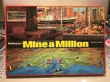 Waddingtons Mine A Million Board Game 1965 Excellent 100% Complete Condition