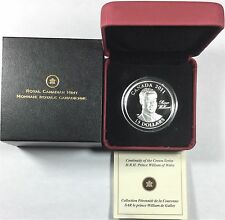 2011 Canada $15 H.R.H. Prince William of Wales Sterling Silver Coin  #34808