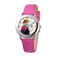Watches Able Children Girls Wristwatches Quartz Cartoon Genuine Leather Disney Brand Frozen Watches Waterproof Number Citizen Movement