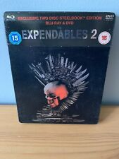 The Expendables 2 Blu Ray / DVD Steelbook WITH CARD SLIP - FREE P+P