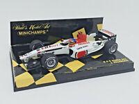 MINICHAMPS 1/43 - BAR HONDA 005 J. Villeneuve 400030016 * usado * used