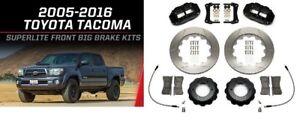 "Wilwood Front Big Brake Kit fits 2005-2016 Toyota Tacoma,Red 6 Piston,13"" Rotors"