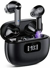 New listing Bluetooth 5.1 Headphones Wireless Earbuds with Led Digital Display Ipx7 Water.