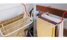 2 x 3M Clothes Drying Airer Over Radiator Washing Laundry Line Hanging Towel