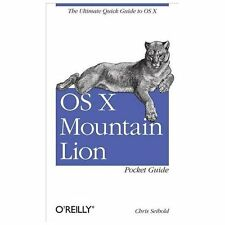 OS X Mountain Lion Pocket Guide: By Seibold, Chris
