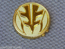 *Flawed* Ranger Tiger Power Coin V4 Cosplay Prop Metal Gold 1991-92 Morpher Toy
