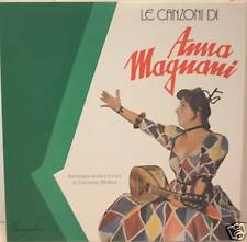 """ANNA MAGNANI """"LE CANZONI"""" box lp + mc + libro PIER PAOLO PASOLINI"""