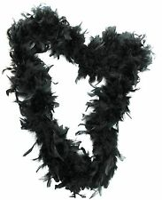 Black Boas, Scarves and Garlands