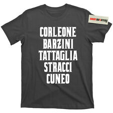 The Godfather Part 2 Ii New York 5 Five Families Barzini Tattaglia movie T Shirt