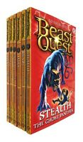 Beast Quest Series 4 The Amulet of Aventia (19 -24) 6 Books Collection Adam New