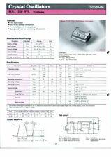 Quarzoszillator  TOYOCOM  TCO-711A 10,000MHz 2Stück