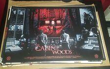 Cabin in the Woods-Limited Edt écran Imprimer par Nathan chesshir NT Mondo