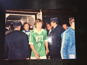Photography Analogue Original Footballer St Etienne The Greens Johnny Rep