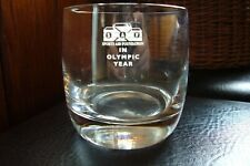 Sports Aid Foundation limited whiskey glass tumbler Olympic year