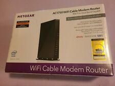 NEW NETGEAR -Dual-Band AC1750 Router 16x 4 DOCSIS 3.0 Cable Modem, C6300-SEALED