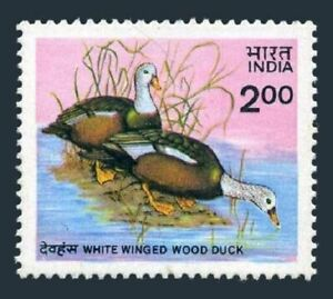 India 1088,MNH.Michel 1021. White-winged Wood Duck,1985